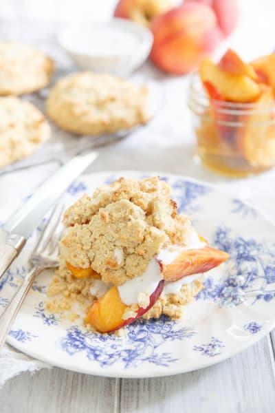 Paleo Peach Shortcake Pic