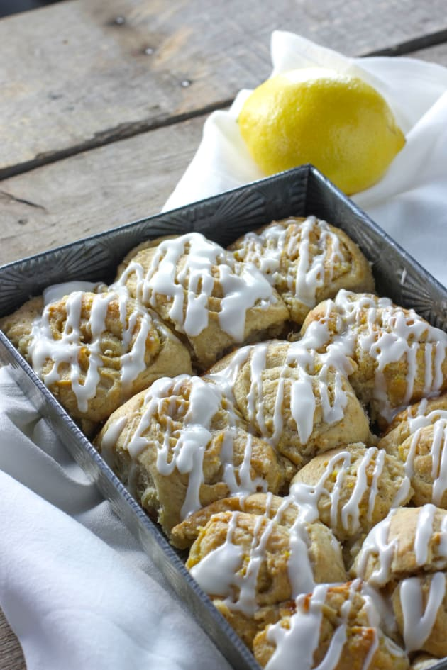 Cardamom Lemon Rolls Picture