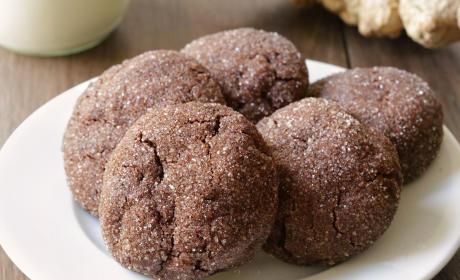 Gluten Free Chocolate Ginger Cookies