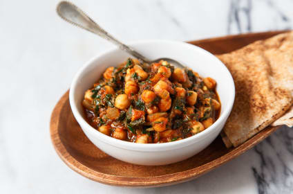 Chana Masala for Two