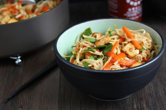 Tofu Vegetable Lo Mein Image