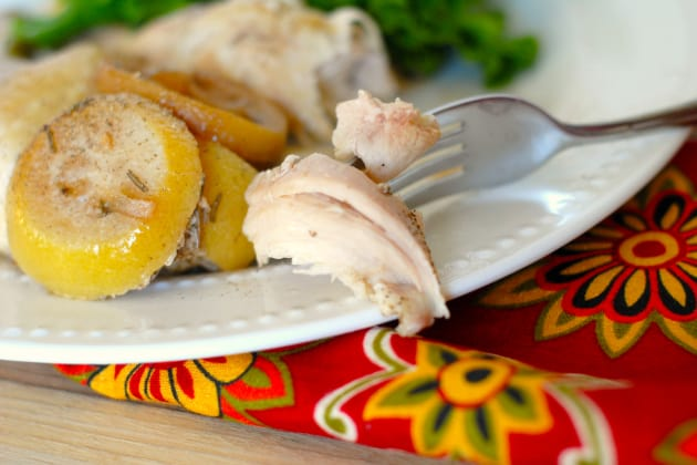 Slow Cooker Lemon Pepper Chicken Picture