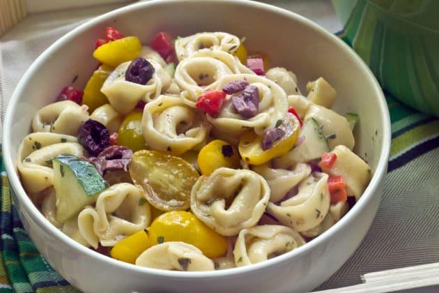 Tortellini Pasta Salad Photo