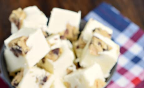White Chocolate Cookie Dough Fudge Picture