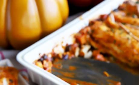 Leftover Thanksgiving Enchiladas Pic