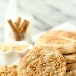 Toffee snickerdoodles photo