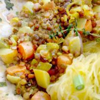 Coconut Curry Lentil Soup Recipe