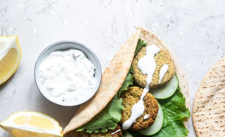 Air Fryer Falafel Pic