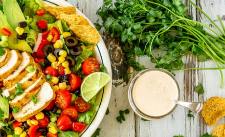 Chicken Taco Salad Image