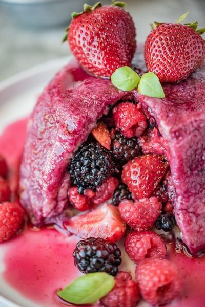 English Summer Pudding Pic