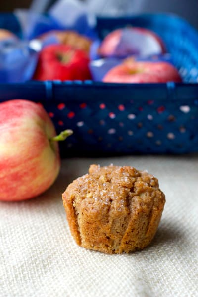 Whole Wheat Apple Cinnamon Muffins Photo