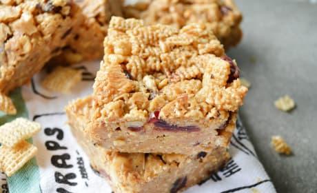 Peanut Butter Honey Cereal Bars Recipe