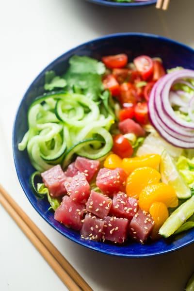 Tuna Ceviche Bowls Picture