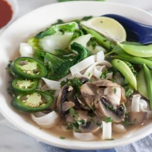 Vegetable pho photo