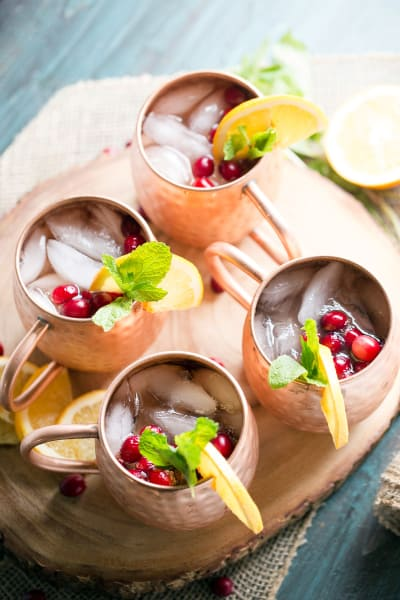 Cranberry Orange Moscow Mule Picture