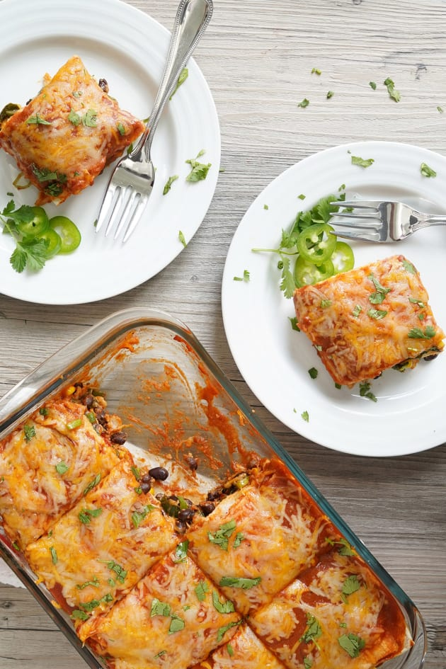 Vegetarian Enchilada Casserole Pic