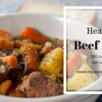 Healthy Beef Stew Recipe - 380 calories