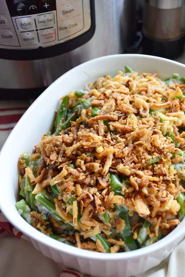 Instant Pot Green Bean Casserole Pic