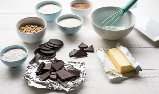 Chocolate Rum Balls Ingredients Photo