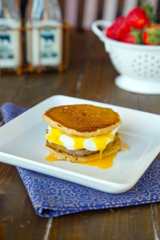 Pancake Breakfast Sandwiches Picture
