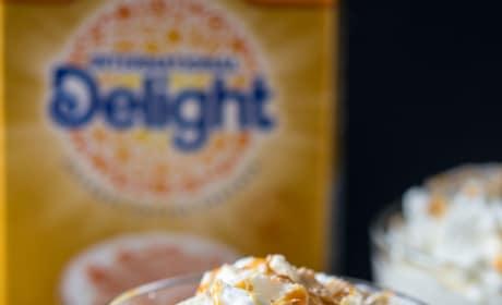 Caramel Macchiato Pretzel Milkshake Pic