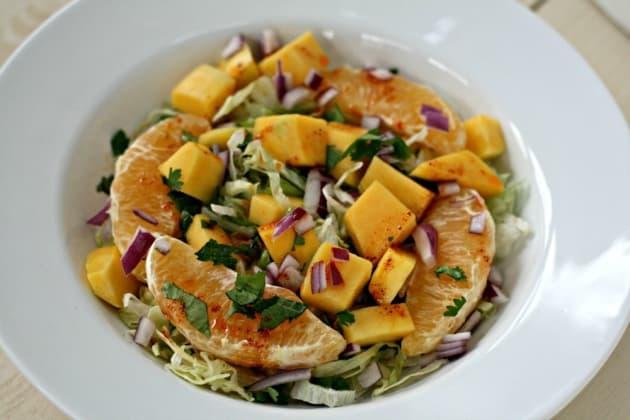 Winter Fruit Salad Picture
