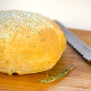 Rosemary olive oil bread photo