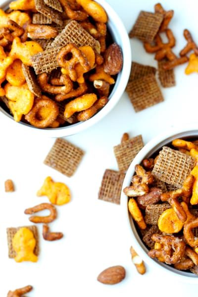 Sweet & Spicy Snack Mix Picture
