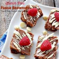 Gluten Free Fudge Brownies