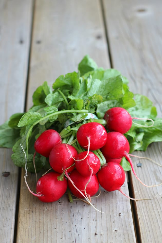 Roasted Radishes Picture