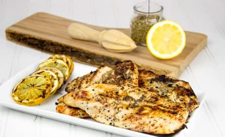 Easy Lemon Grilled Chicken Recipe