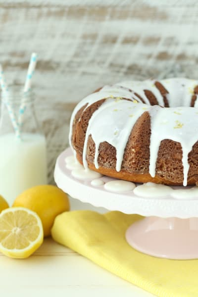 Easy Lemon Bundt Cake Image