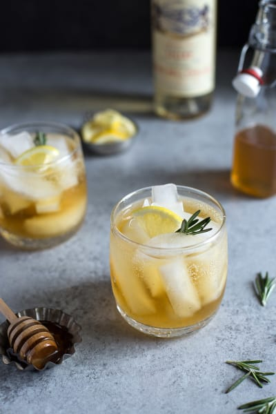 Lillet Spritzer with Honey and Rosemary Image