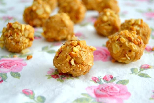 Peanut Butter Cookie Dough Balls Photo