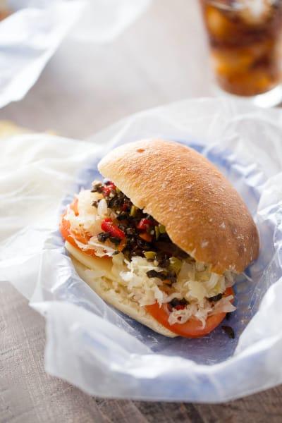 Vegetarian Reuben Sandwich Picture