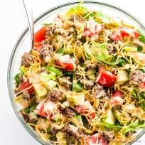 Big Mac Salad (Low Carb, Gluten-free)
