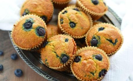 Grain Free Blueberry Muffins