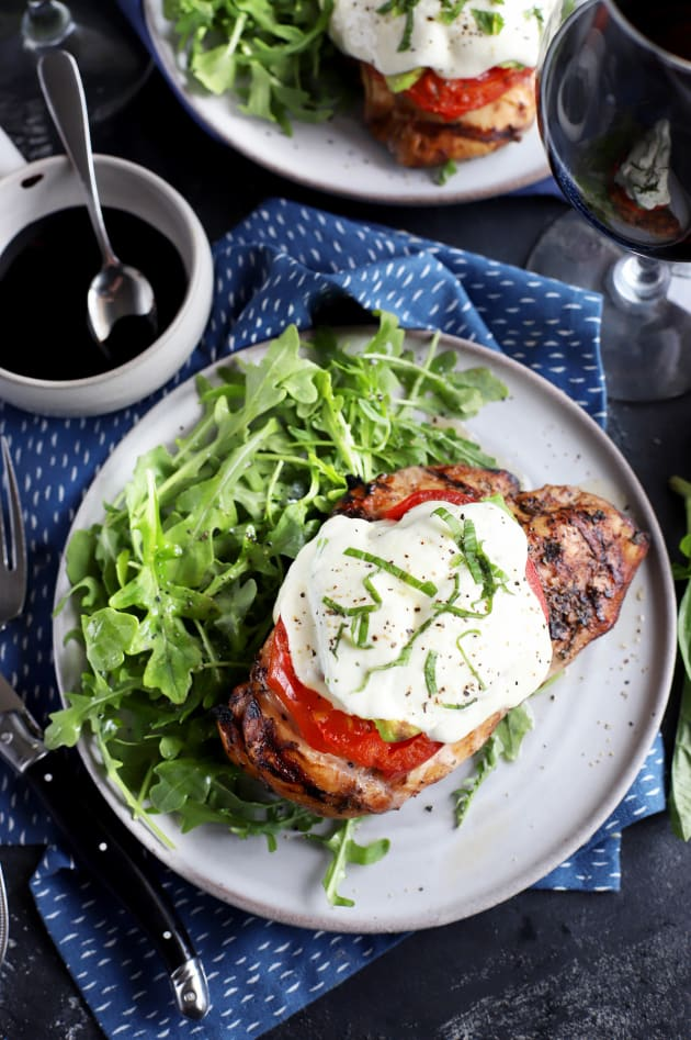 Grilled Caprese Avocado Chicken Picture