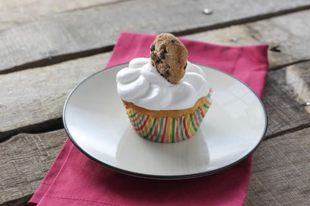 Cookie Dough Cupcakes Photo