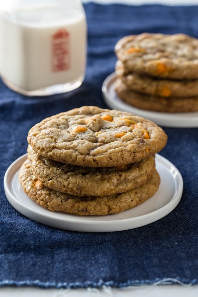 Pumpkin Spice Toffee Cookies Picture