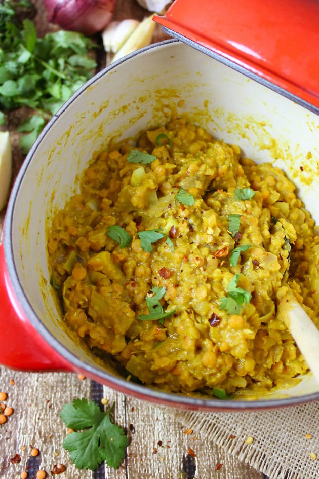 Spicy Pumpkin Lentils Image