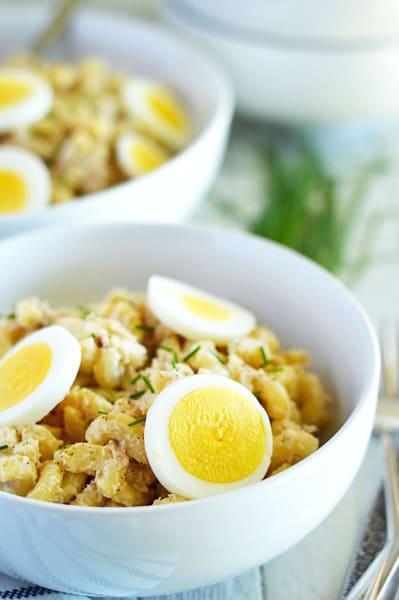 Gluten Free Tuna Noodle Salad Image