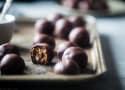 No Bake Crispy Almond Butter Chocolate Bites