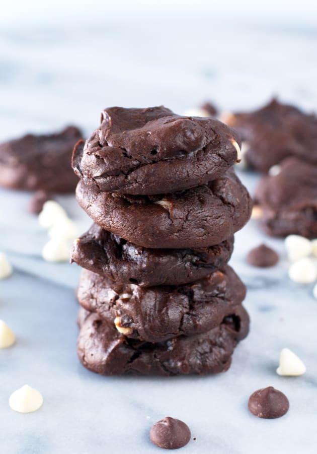 Triple Chocolate Avocado Cookies Image