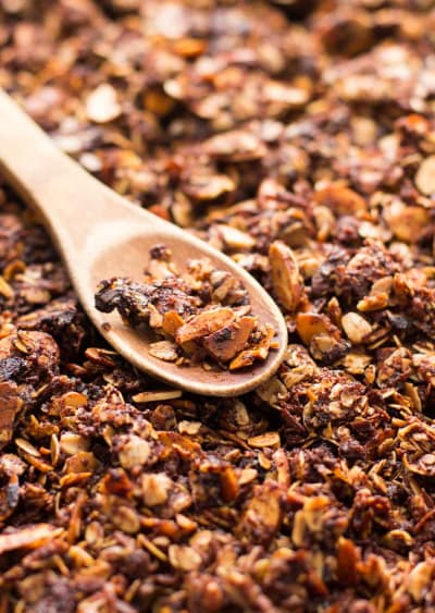 Nutella Almond Granola Image