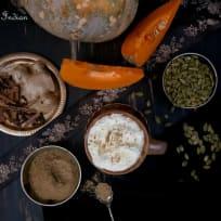 Spiced Pumpkin latte