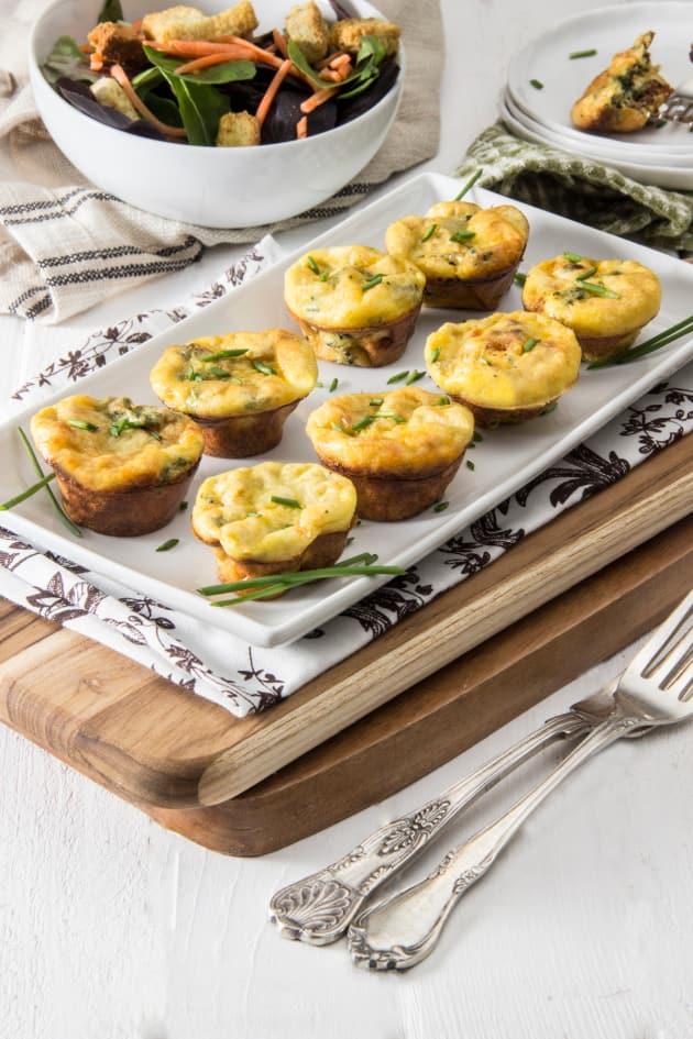 Spinach Artichoke Mini Frittatas Picture