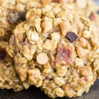 Peanut Butter Bacon Breakfast Cookies Recipe