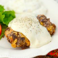 Gluten Free Chicken Fried Steak Recipe