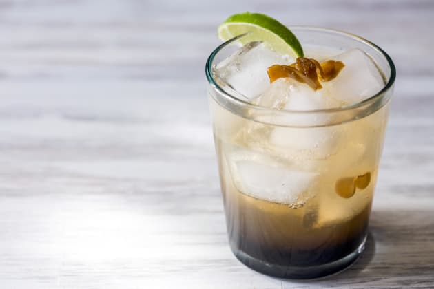 Spicy Ginger Rum Cocktail Photo